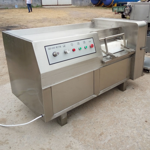 Industrial Big Frozen Fresh Chicken Meat Dicing Dicer Machine