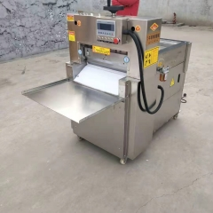 Automatic Fresh Frozen Meat Roll Slicer Slicing Cutting Machines