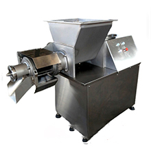 Small Automatic Stainless Steel Fish Chicken Meat And Bone Separator Machine