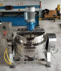 Small Electric Heating Stem Jacketed Kettle Manufacturer