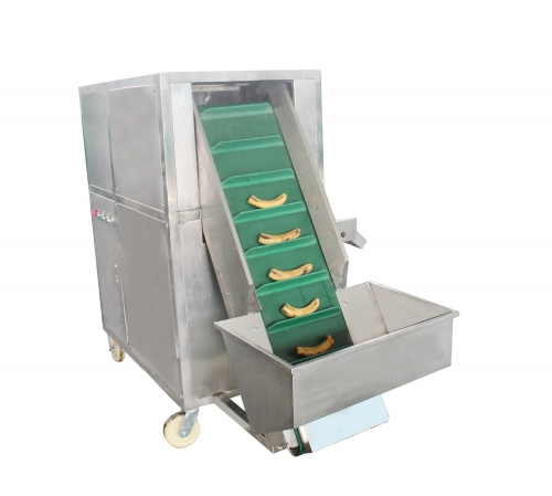 Automatic Green Banana Plantain Peeling Peeler Machine Made In India