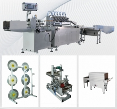 High Speed Biodegradable Food Paper Drinking Straw Making Machine