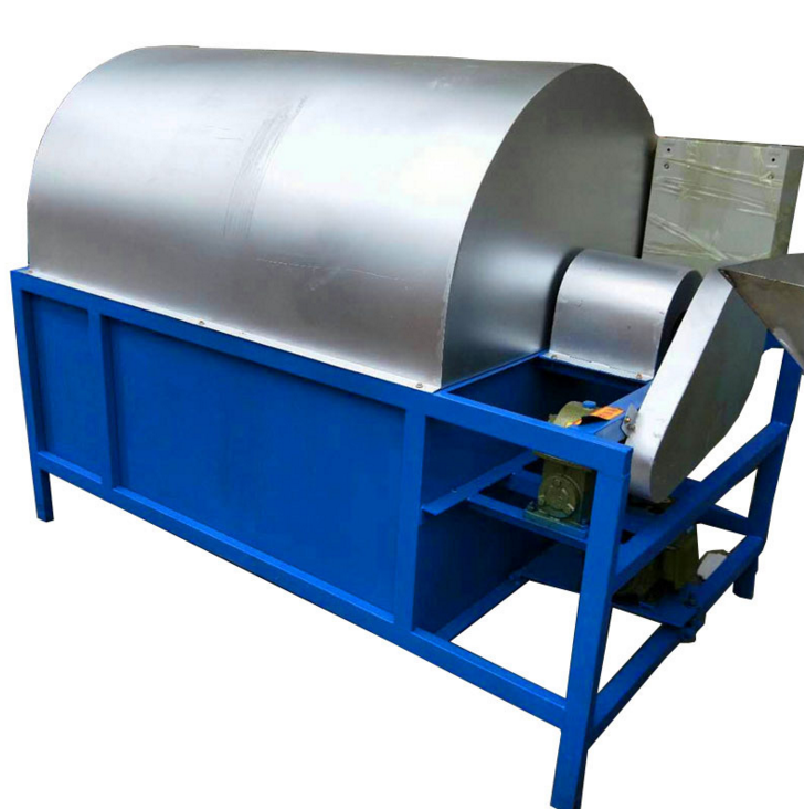 Full Automatic Japanese Small Cashew Nuts Peanuts Roasting Machine
