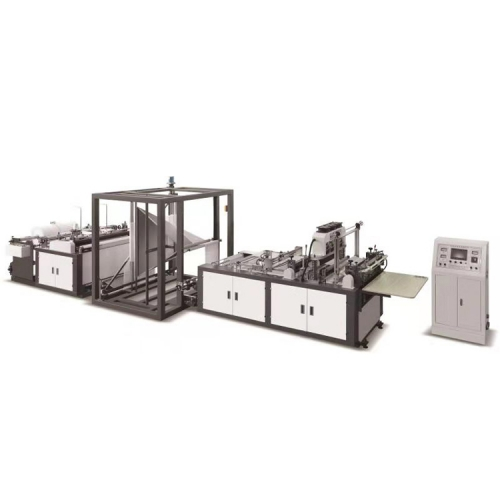 Non Woven Shopping Tissue Fabric Bag Making Machine Fully Automatic Price