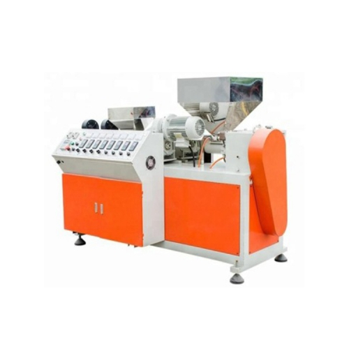 Biodegradable Plastic Extruder Drinking Straw Cutting Making Extrusion Machine