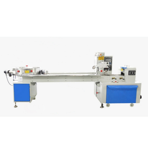 Automatic Pillow Type Horizontal Small Pounch Candy Biscuit Packing Packaging Machine
